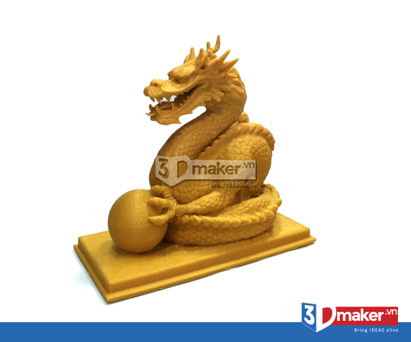 con rồng in 3d
