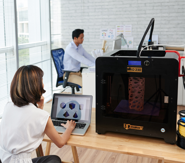 3DMaker PRO230 Professional FDM 3D Printer