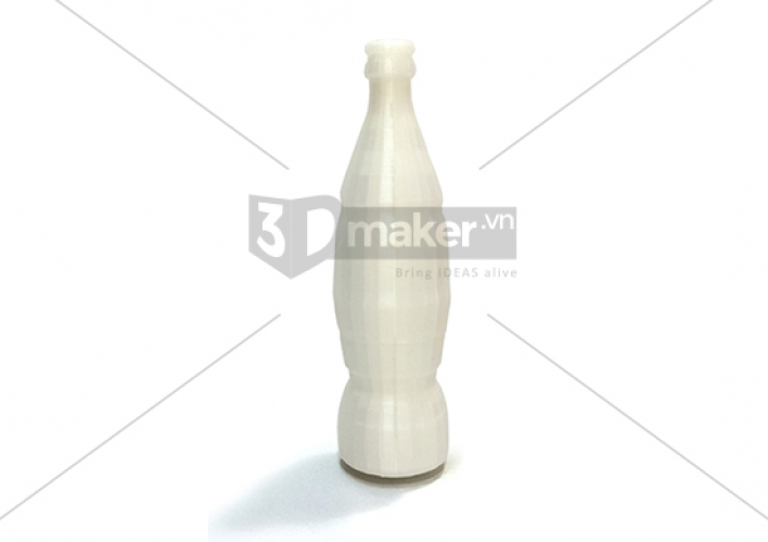 3DMAKER produces 3D models of Coca-cola bottle